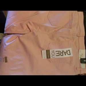 Soft Pink stretchy Jeans